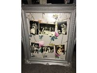 Handmade picture display