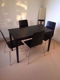 Henley Black Dining Table