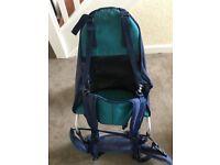 Adult backpack child carrier KARRIMOR ***PRICE REDUCED***