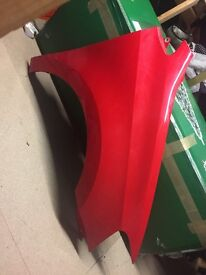 VW Polo drivers wing