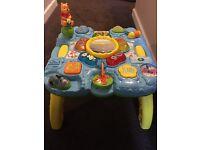 WINNIE POOH PLAY ACTIVITY TABLE