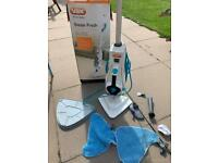Vax S86-CF-SS Steam Mop Boxed As New Excellent Condition