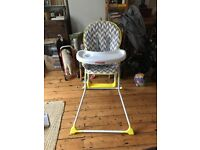 Baby / toddler highchair by MyBabiie almost new