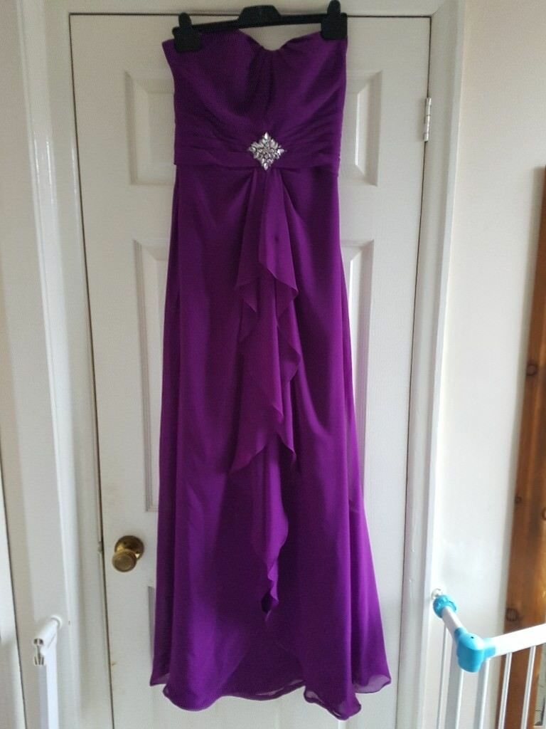 Cadbury purple bridesmaid/prom dress | in Middlesbrough, North ...