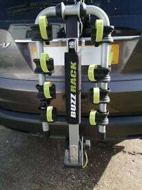 Buzz Rack: bike rack for 4 bikes with accessories - nearly new