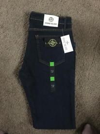 Men's stone island jeans 36w 32leg