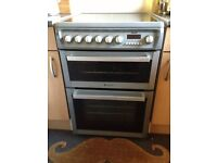 URGENT sale -Hotpoint electrical cooker and small fridge from Argos for sale.perfect