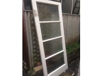 FREE internal retro doors, and carpet for killing garden weeds