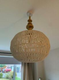 Free ceiling light fitting