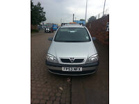 vauxhall zafira 1.6 petrol 7 seater family car ,BARGAIN