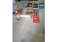 Assortment of kids books