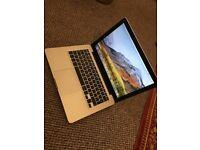 macbook pro 13.3 intel core i5 8g ram 1tb storage mint condition with l