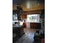 Kitchen For Sale - complete with fridge, dishwasher, cooker, pine ceiling and breakfast bar.