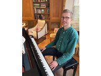 Young and Dedicated Piano Tutor