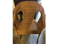 Take A look, 2 x Wicker Chairs