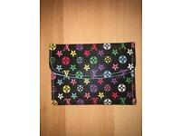 Louis Vuitton style black multi card holder
