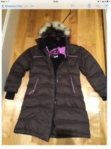 Manteau long pour fille de marque Orage grandeur S (8 ans)