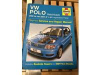 Haynes VW Polo Manual 2000 to 2002