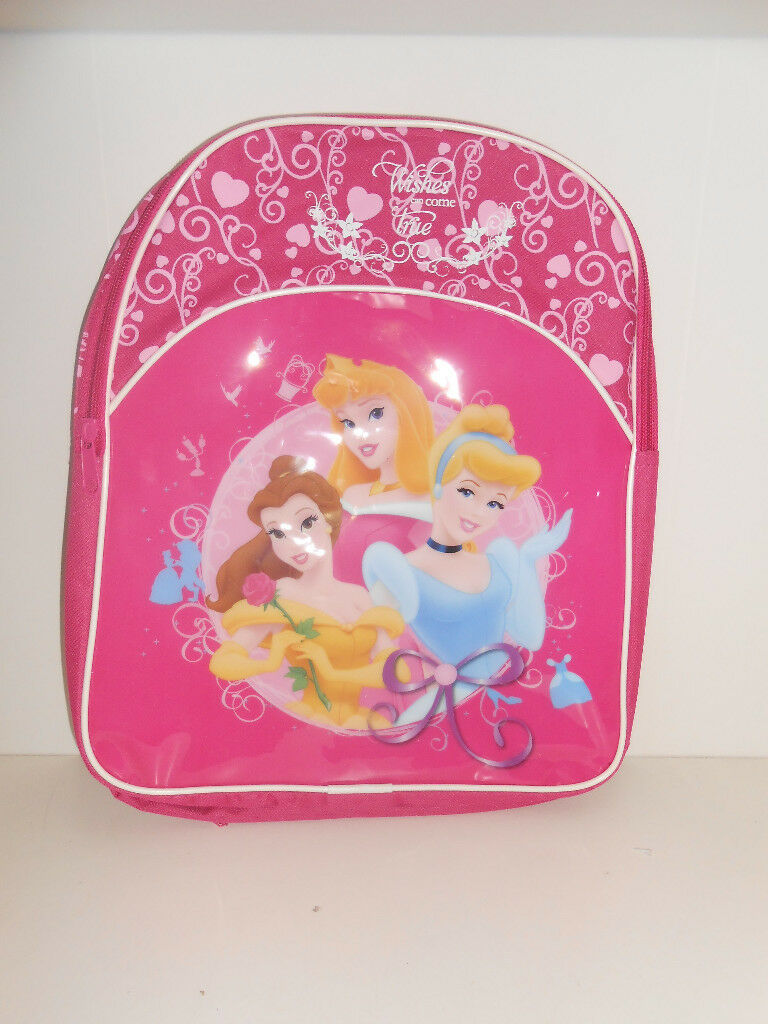 Disney Princess Back Pack and Lunch Bag New