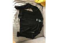 Ladies small black cardigan bnwt
