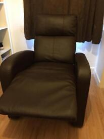 Massage recliner chair