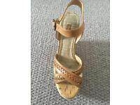Next tan wedges size 5