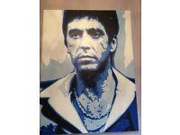 George ioannou 'Montana Blue' Giclee Canvas