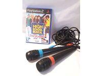 Playstation 2- High School Musical Disney Singing Microphone