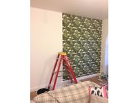 High quality Wallpaper hanging / painter and decorator