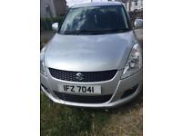 *reduced* Suzuki Swift SZ4 1.2 with private plate