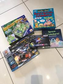 Huge bundle of toys, books and games