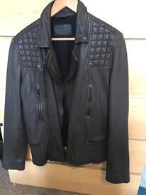 All saints biker jacket, medium.