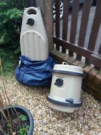 Wastemaster and Water Hog with cover