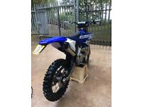 2016 Yamaha YZ 250 ROAD REGISTERED (WR YZF EXC)