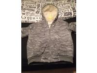 M fluffy jacket, barely used