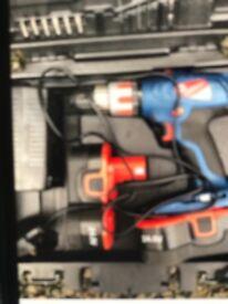 Cordless Silverline 24V Hammer Drill