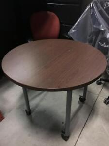"""36""""Round Table - $75"""