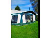 Bradcot classic awning to fit 2 berth caravan