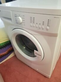 Slim white Beco WMP 541 W washing machine in fully working order. 6 kg, 1400 rpm.Delivery