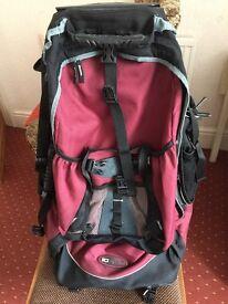 Travellers back pack