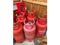 19kg CALOR LPG BOTTLES X 5 CHEAP