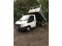 transit 2007 tipper 57 plate 100 T350m RWD first to see will buy