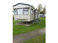 static mobile home for sale. sleeps 8, on a very good site. Selsey