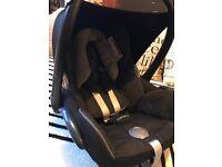 Maxi Cosi Cabriofix car seat. + raincover