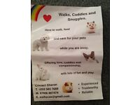 Dog sitter / walker available