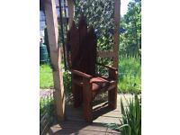 One of a kind, Custom made garden chair.
