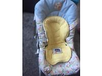 Chicco baby seater and rocker
