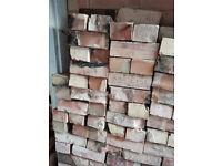 Around 500 bricks