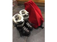 Women's Ski Boots - Salomon, size 24.0 and hardly worn