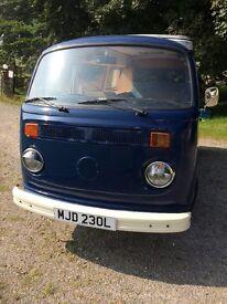 VW campervan 1972 baywindow